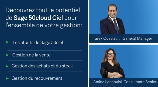 Webinar Sage 50Cloud Ciel Facturation – Jeudi 10 Oct. 2019